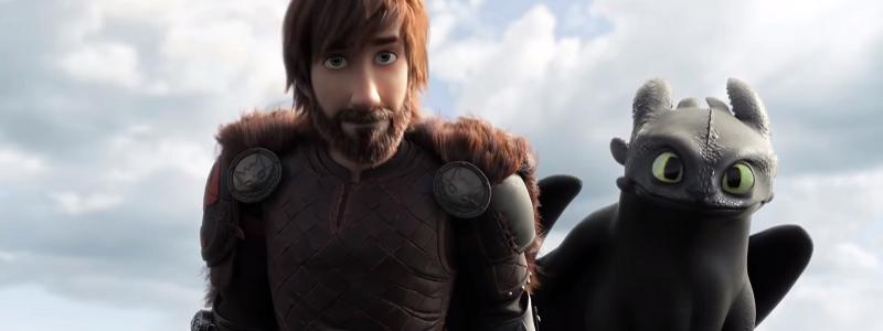Кадры из муультфильма Как приручить дракона 4