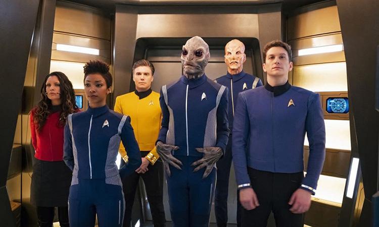 Кадры из сериала Звездный путь дискавери 3 сезон