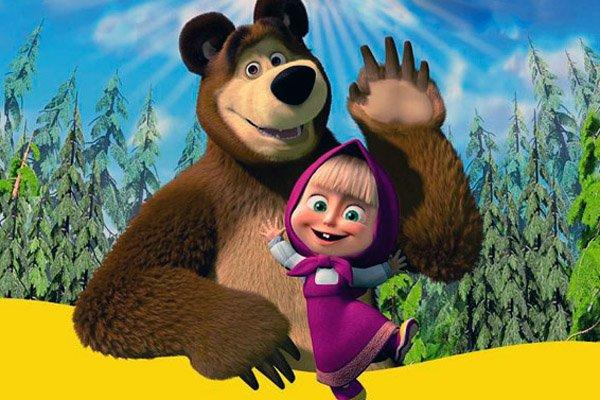 Кадры из сериала Маша и медведь 2019