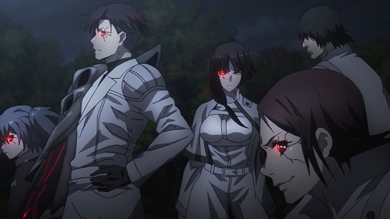 Кадры из аниме Токийский гуль 5 сезон