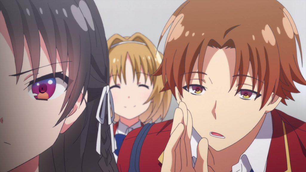 Кадры из аниме Добро пожаловать в класс превосходства 2 сезон