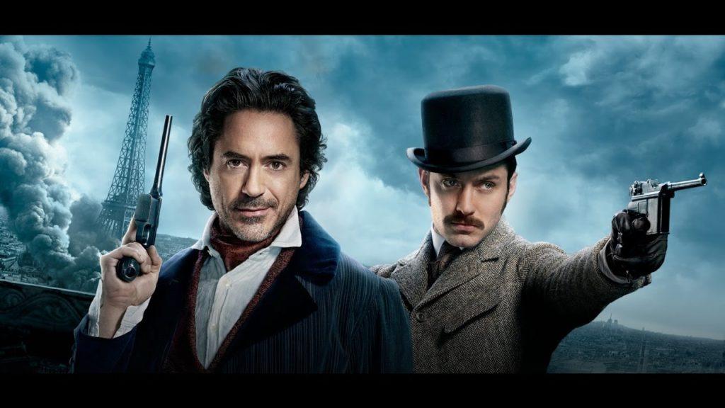 Кадры из фильма Шерлок холмс 3