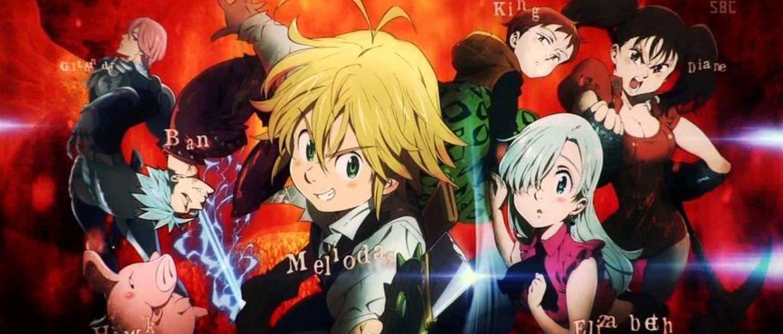 Кадры из аниме Семь смертных грехов 3 сезон