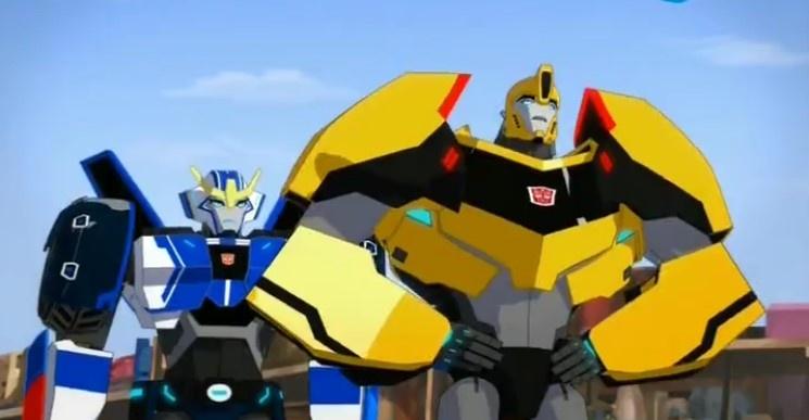 Кадры из сериала Трансформеры: Скрытые роботы 5 сезон