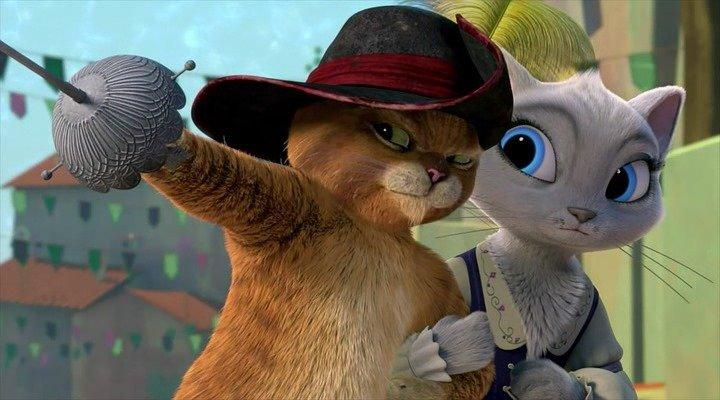 Кадры из сериала Приключения кота в сапогах 7 сезон