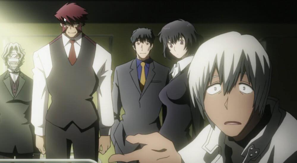 Кадры из аниме Фронт кровавой блокады 3 сезон
