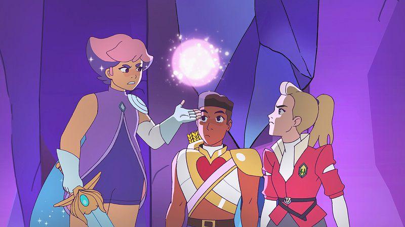 Кадры из мультфильма Ши-Ра и непобедимые принцессы 3 сезон