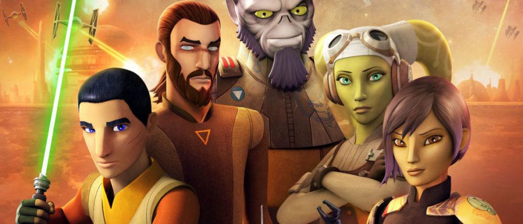 Кадры из сериала Звездные войны: Повстанцы 5 сезон