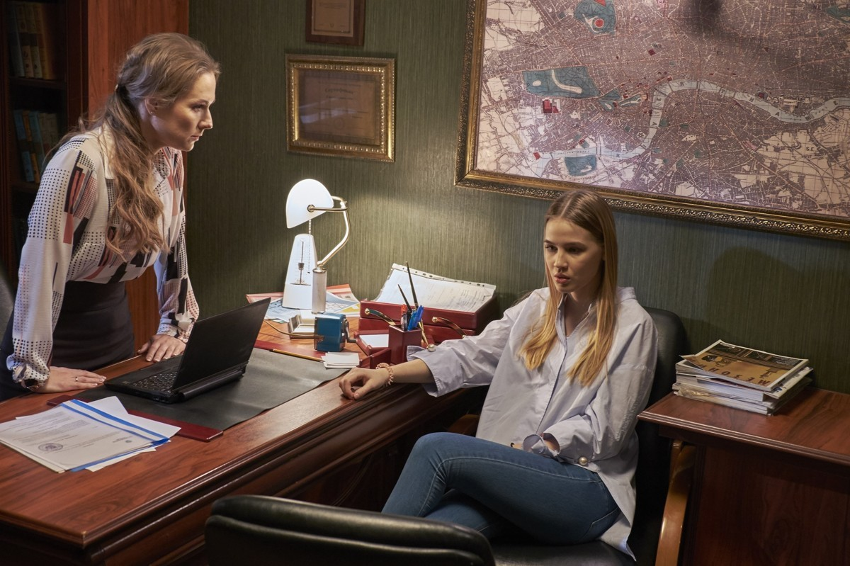 Кадры из сериала Глаза в глаза 2 сезон