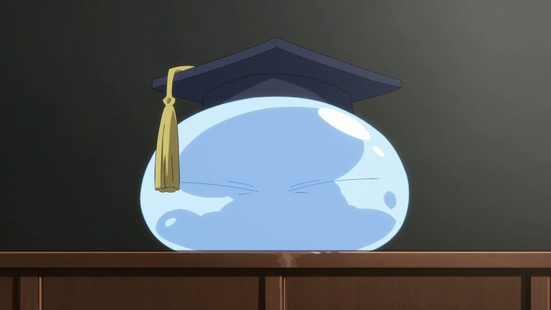 """Кадр из аниме """"О моем перерождении в слизь"""""""